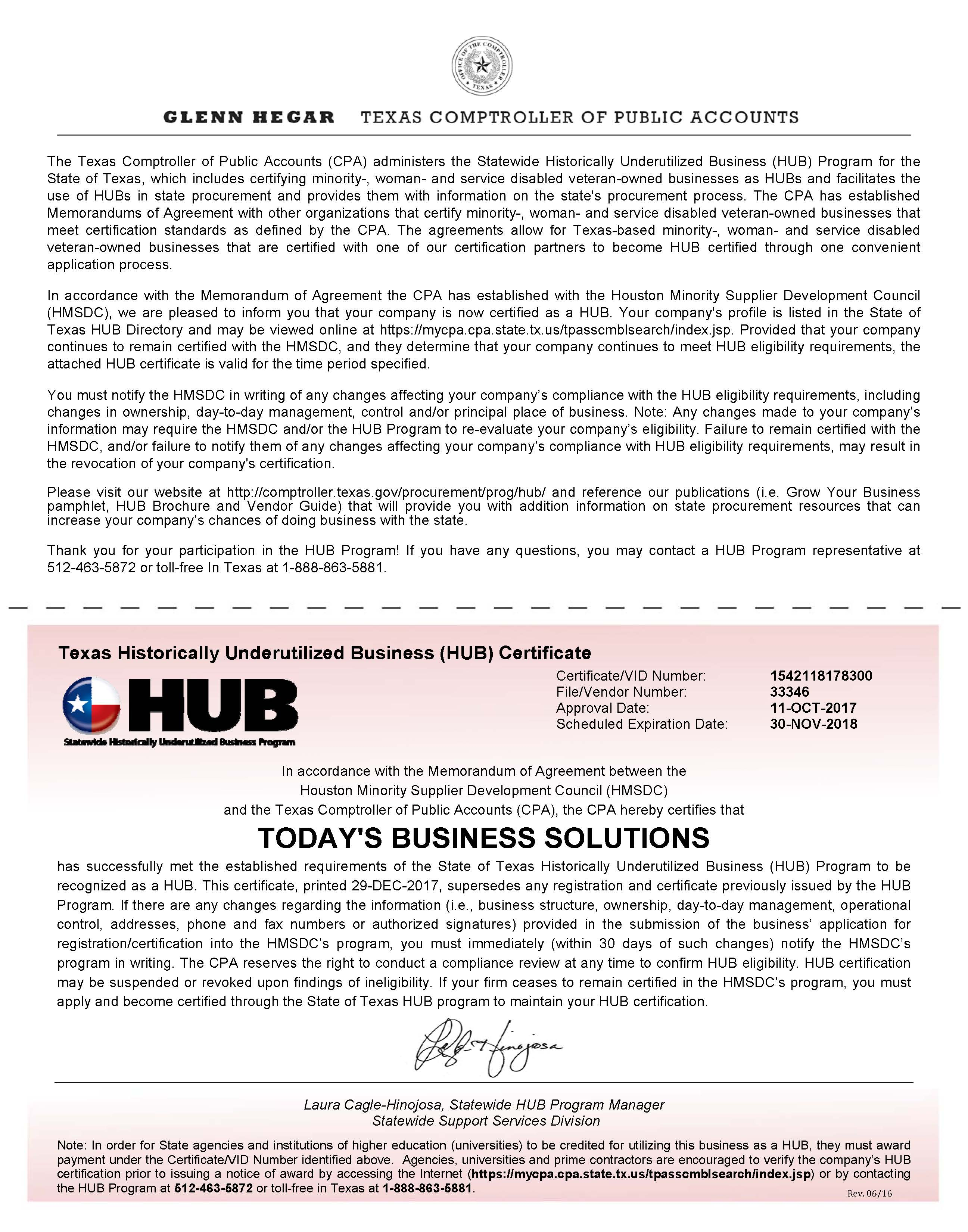 Free Cover Letter Templates » minority owned business certification ...